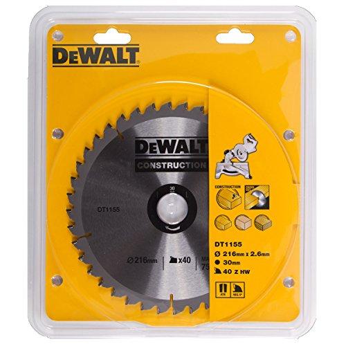 dewalt-dt1155qz-216-x-30mm-x-40-tooth-circular-saw-blade-construction