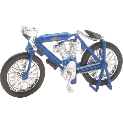 New Ray 1908 Indian Twin Racer Replica Motorcycle Toy - 1:32 Scale