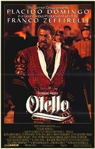 Otello Poster Movie 11x17 Placido Domingo Katia Ricciarelli Justino Diaz Petra Malakova