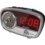 Westclox 80193 Classic AM/FM Clock Radio