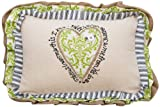 Glory Haus Jesus Loves Me Pillow, 9 by 12-Inch