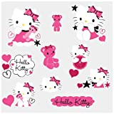 RoomMates Hello Kitty Couture Peel and Stick Wall Decals