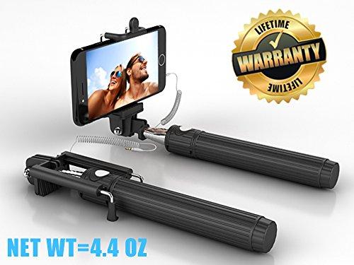 selfie stick kiwii selfie stick monopod 3 in 1 self portrait monopod extend. Black Bedroom Furniture Sets. Home Design Ideas