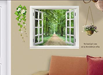Buy D Window Wall Sticker Ay  Online At Low Prices In India - Window stickers for home india