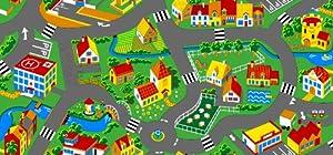 Spielteppich Stadt 140 x 200