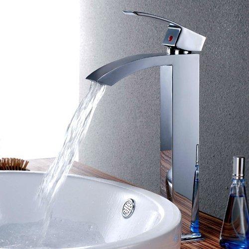 Waterfall Vessel Sink Faucet