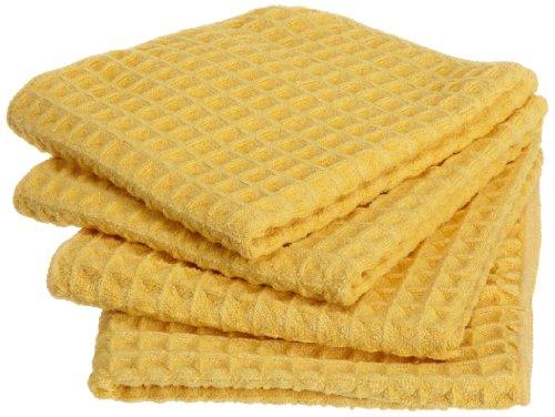 DII Giant Microfiber Waffle Dish Cloth, Citrus,