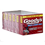 Goody's Back & Body Pain – 24 Powders (Pack of 6)