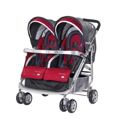 Zooper Tango Smart Stroller, Ruby Storm front-301707