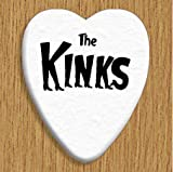 Kinks (The) 5 X Love Heart Guitar Picks Both Sides Printed