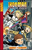 img - for Iron Man and Power Pack: Armored and Dangerous (Marvel Digests) book / textbook / text book