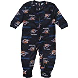 OKC Oklahoma City Thunder Coverall Pajamas Sleeper 6-9 Months Amazon.com