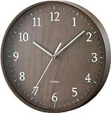 rimlex(リムレックス) アナログ掛け時計 フォレストランド ブラウン W-545BR
