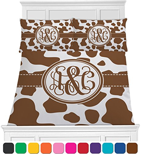 Cow Print Baby Bedding front-1042814