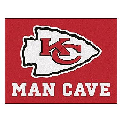 FANMATS 14320 NFL Kansas City Chiefs Nylon Universal Man Cave All-Star Mat