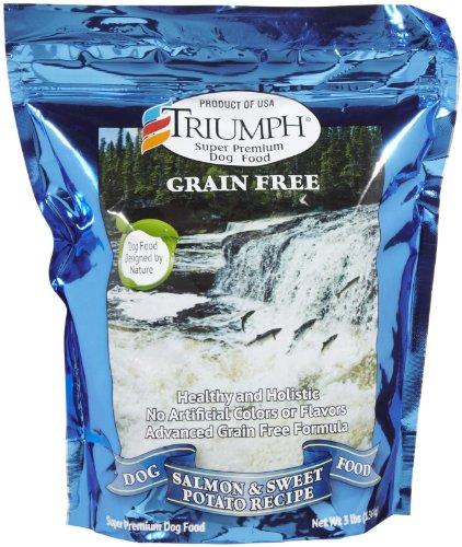 Triumph Grain Free Salmon & Sweet Potato Dog Food - 3 Lb