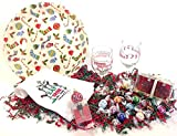 Lindt Deluxe Wine & Gourmet Chocolate Candy Lovers Christmas Holiday Gift Basket Bowl Gift Set (LGJ)
