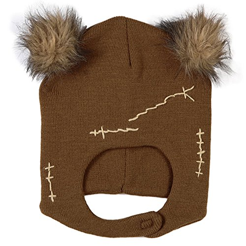 Star Wars Ewok Mascot Beanie Adult Knit Hat Cap
