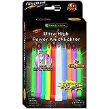 10 Ultra High Power Knicklichter 9-FARBMIX! Extrem hell. Extra dick. 150x15mm. Im BIG Sparpack. Neueste Generation. Unter eigenem Label produziert.