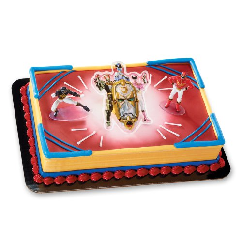 Decopac Power Rangers Mega Force DecoSet Cake Topper