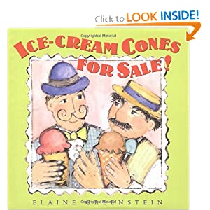 Ice Cream Cones for Sale! Elaine Greenstein