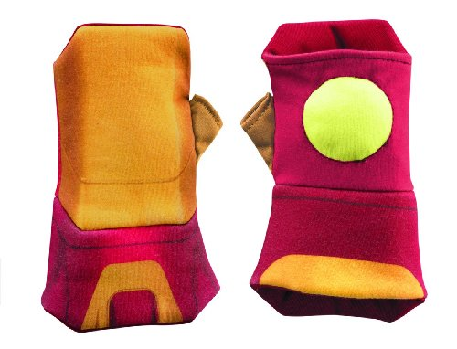 Disguise Marvel's Iron Man Movie 3: Iron Man Mark 42 Glow Soft Gauntlets