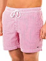 McGregor Short de Baño Paul Pacific Bf (Rojo / Blanco)