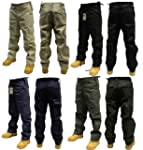 Adults Plain Combat Cargo Army Trouse...