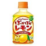 ポッカサッポロ ぽっかぽか レモン (ホット用)  HOT用 (280mlPET×24本入) 2ケース