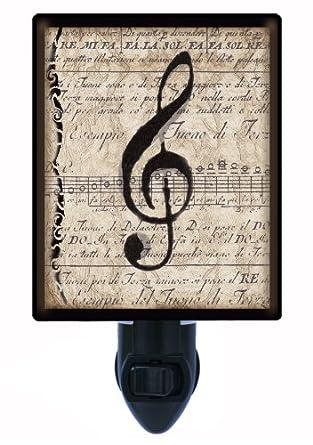 Music Night Light - Musical Clef Note