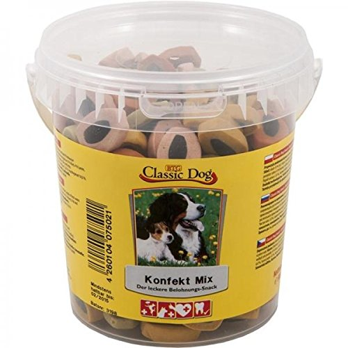 Classic Dog Snack Mix Bucket 500G Confectionery