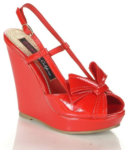 Funky Wedge Sandals front-990158