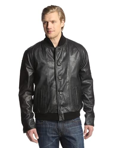 Levi's Made & Crafted Men's Leather Bomber Jacket
