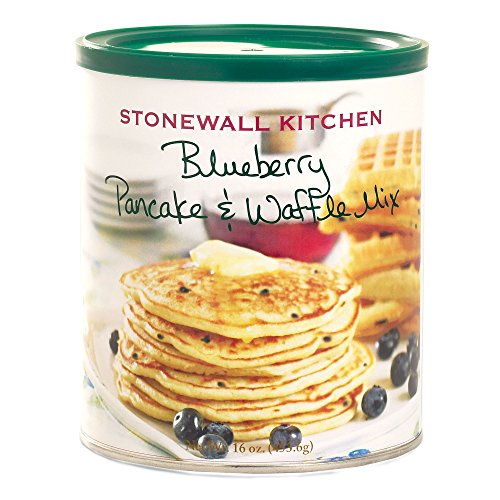 Stonewall Kitchen Blueberry Pancake and Waffle Mix, 16 Ounce Can (Stonewall Kitchen Pancake Mix compare prices)
