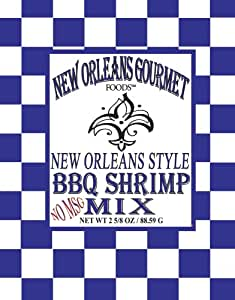 Amazon.com : New Orleans Style BBQ Shrimp Mix MSG Free : Barbecue ...