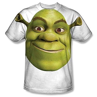 Shrek Head All Over Front T-Shirt