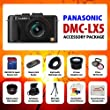 Panasonic Lumix DMC-LX5 10.1 MP Digital Camera + Best Value 8GB, Carrying Case, Lens & Tripod Complete Accessories Package