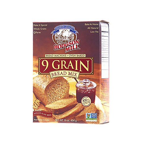 Hodgson Mill 9 Grain Bread Mix, 16-Ounce Boxes (Pack of 6) (Bread Machine Mixes Variety Packs compare prices)