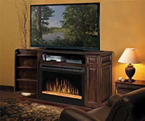 Atwood 55 Tv Stand With Electric Fireplace Electric Stoves