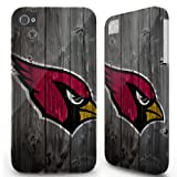 Iphone 5C Case Cover Skin - Sports team Arizona Cardinals Wood