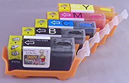 Full Set PGI 225 & CLI 226 Refillable Edible Ink for Canon Printers