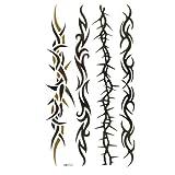 King Horse Wasserdicht und Schweiß der vier bildgebenden Rankenmuster Tattoo