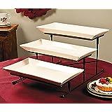 3 Tier Gourmet Serving Tray Set Elegant Serveware Tableware With Platters