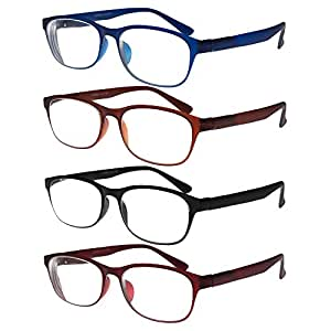 reading glasses tr90 eyeglasses set of 4