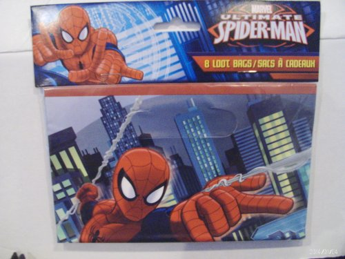 Marvel Ultimate Spider-Man Loot Bags