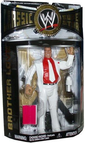 Buy Low Price Jakks Pacific WWE Wrestling Classic Superstars Series 13 Action Figure Brother Love (B0019CW8YE)