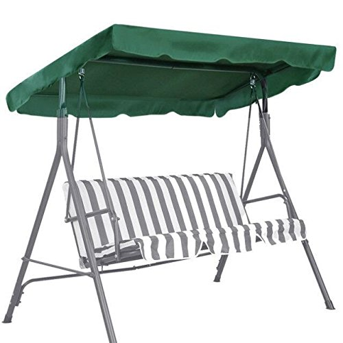 new-patio-outdoor-73x52-swing-canopy-replacement-porch-top-cover-seat-furniture-green