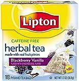 Lipton  Herbal Tea Pyramids, Blackberry Vanilla 18 ct, 1.3 oz