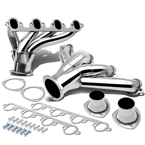 Ford Big Block Hugger BBC V8 Engine 4-1 Stainless Steel Shorty Header Exhaust Manifold - 429 460