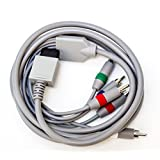 Old Skool Wii Component AV Cable for Nintendo Wii and Wii U to HDTV